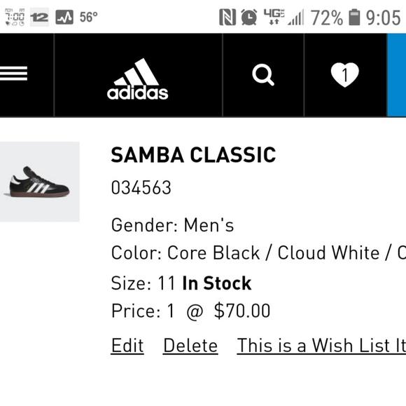 997f88c68ede30 adidas Other - Classic Adidas Samba